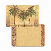 Wholesale Plastic Placemats with Coasters for Kitchen, Made of PP, Customized Designs are Accepted from china suppliers
