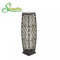 Wholesale PE Rattan Wicker Outdoor Solar Lights LED Lamp For Landscape Lighting Decorative from china suppliers