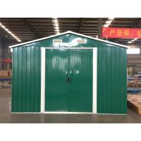 China Windproof Steel Garden Sheds Long Term Durability Used As Industrial Storage on sale
