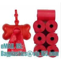 Wholesale disposable pet bags, litter bags, poop bags, pet supplies, clean up, tidy bag, dog waste from china suppliers
