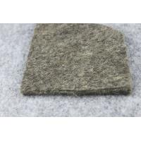 Wholesale Non - Toxic Wear Resistant Grey Wool Felt, Sheep Wool Felt Fabric 2mm - 20mm from china suppliers