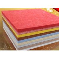 Wholesale 9 mm Thickness Red Polyester Fiber Acoustic Panels For Cinema OEM from china suppliers