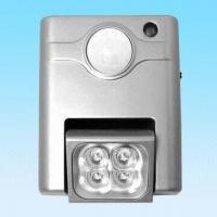 China Indoor Motion Sensor Light with Slide Switch for Auto, On and Off Selection on sale