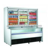 Quality Commercial Combination Freezer For Frozen Food With Limited Space / Drinks Display Fridge for sale