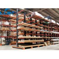 Heavy Duty Cargo Metal Industrial Storage Rack 11 Arm Level Works Forklift Operation