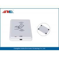 Wholesale White NFC Card Contactless Reader , Anti - Collision ICODE SLIX NFC Reader And Writer from china suppliers