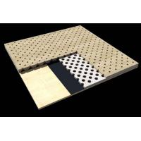 Wholesale Office Building Perforated Wood Acoustic Panels / Sound Absorption Board from china suppliers