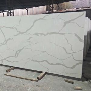 Wholesale Cut - To - Size Artificial Quartz Stone , White Quartz Kitchen Worktops from china suppliers