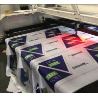 Wholesale Polyester Fabric Vision Laser Cutting Machine For Flag Display Signage And Banner from china suppliers