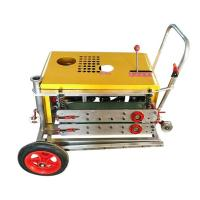 Wholesale Yellow Cable Hauling Machine For Cable Puller , Efficient Wire Laying Machine from china suppliers