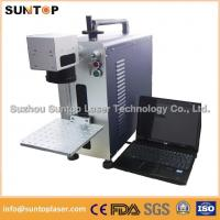 Wholesale Bearing portable fiber laser marking machine small size desktop model from china suppliers