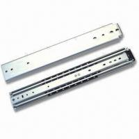 Wholesale 76mm Full Extension Heavy-duty Ball Bearing Drawer Slide with 300 to 1,500mm Length from china suppliers