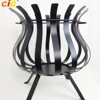 Wholesale Cauldron BBQ 360mm Diameter Fire Place,Outdoor BBQ Round Fire Place from china suppliers