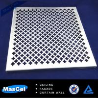 modern ceiling tile and decorative perforated metal sheet