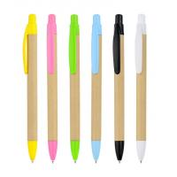 China advertising paper pen, paper barrel ball pen, recycled paper ball pen on sale