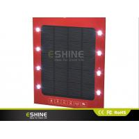 Wholesale camping solar cellphone charger PET Ultra thin FCC for traveling from china suppliers