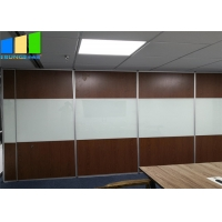 Wholesale Soundproof Folding Door Operable Partition Wooden Dividers Acoustic For Malaysia from china suppliers
