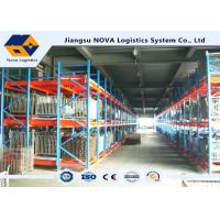 Buy cheap Factory Epoxy Coated Push Back Pallet Racking Heavy Duty First In CE Guarantee from wholesalers