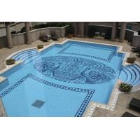 Decorative glass mosaic tiles for wall swimming pool floor Swimming pool decorative tiles