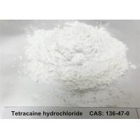 Wholesale Anesthetia Tetracaine Hydrochloride Tetracaine HCL Powder CAS 136-47-0 White Crystalline Solid from china suppliers