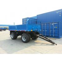 Wholesale 6252LX-Draw Bar Plate Form Trailer-2 axles from china suppliers