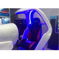 Quality Real Track 4-Axis Electric 9d VR Racing Driving Simulator VR Car Game Machine for sale