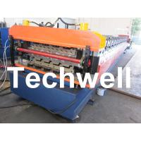 Wholesale PLC Frequency Control System Double Layer Roofing Roll Forming Machine TW-DLM from china suppliers