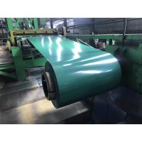 Wholesale G3312 A755 JIS ASTM Pre Painted Galvanized Steel Coils 600 - 1250mm Width PPGI Ral 9010 from china suppliers