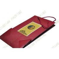 Wholesale Personalized Recycled Paper Shopping Bags For Food, Wine Packaging from china suppliers
