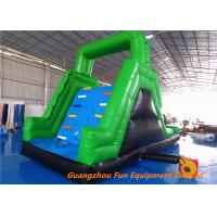 Wholesale Customized Outdoor  Inflatable water slide for kids fun , bouncer water slide for water park from china suppliers