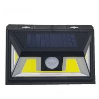 Wholesale COB Light Source LEDs IP65 Waterproof Solar Powered Motion Security Light from china suppliers