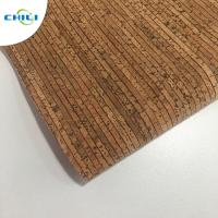 Wholesale 0.4±0.05mm Thick Thin Cork Roll , Wine Cork Fabric For Shoes Bags Wallpaper from china suppliers