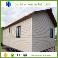 China low cost steel frame prefab movable sandwich panel house homes on sale