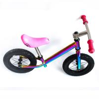 Wholesale Super Light Titanium Balance Bike Ti Bicycle Without Pedal Impact Resistance from china suppliers