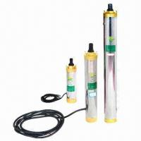 Wholesale Solar Water Pump System, DC/AC, Portable, Controller, Submersible Pumps with 27V, 210W x 3 Power from china suppliers