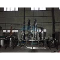Wholesale Distiller Alcohol Distiller Distill Gin Distillation Unit Bubble Cap Column from china suppliers