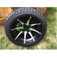 """Wholesale 12"""" Chrome Wheel and Kenda ProTour 205/35R12 Golf Cart Tire No Nuts from china suppliers"""
