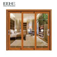 Wholesale Space Saving Aluminum Frame Sliding Glass Doors For Residential Color Optional from china suppliers