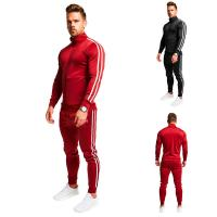 Wholesale 65% cotton 35% polyester Male Athletic Full Zip Tracksuit Digital Sublimation Transfer Printing from china suppliers
