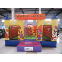 Wholesale Attractive Animal Theme Inflatable Castle  Mini Jumper Bouncer Small Jumping Castle for Kids from china suppliers