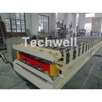 Wholesale Wall Cladding Roof Roll Forming Machine , Metal Forming Equipment Yield Strength 250-350Mpa from china suppliers