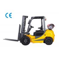 Wholesale Dual Fuel Four Wheel Forklift 3000kg Capacity With Engine Protection Lock from china suppliers