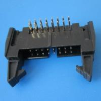 Wholesale 1 1.27 2 2.54 3.96 5.08mm pitch IDC connector DIP box header Ejector header for PCB connector from china suppliers