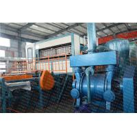 China High Speed Octahedral Rotary Egg Tray Machine , Egg Carton Machine 50 Hz Frequency on sale