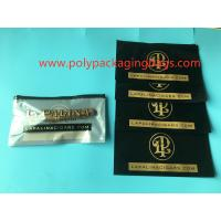 Wholesale Customized Printed 4 - 6 Cigars Wrap Bags , Mylar Packaging Bags With Zipper from china suppliers
