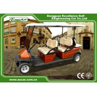 Wholesale Brown Red 6 Seater Electric Golf Buggy ADC 48V Battery Powered from china suppliers