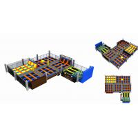Wholesale 756M2  Free Jumping/ Indoor Trampoline Park / Kids Indoor Jumping Bed For Fun/ Amusement Trampoline from china suppliers