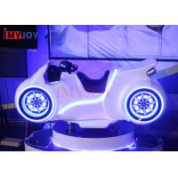 Quality China vr factory Indoor amusement 9d VR motorcycle game racing simulator machine for sale