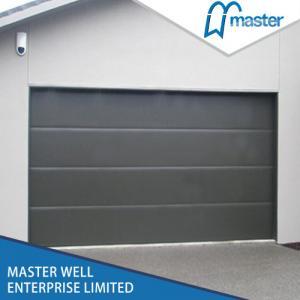 China Automatic good quality sectional Garage Doors / galvanized steel garage doors / colorful garage doors on sale