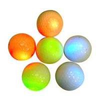 Wholesale flashing golf ball/led golf ball/glowing golf ball from china suppliers